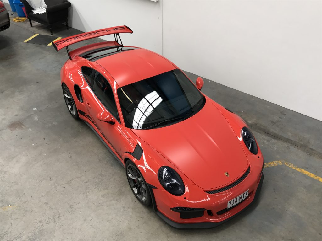 Unique GT3RS wrapped in XPEL Ultimate & Stealth.