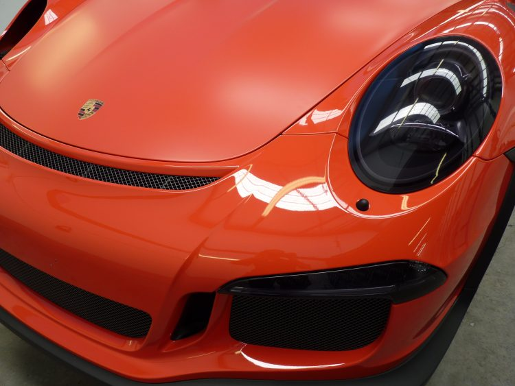 GT3RS XPEL wrapped in Stealth and Ultimate Paint Protection Films