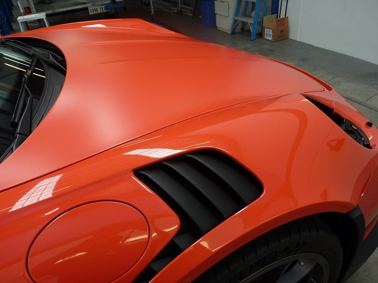 WINGUARD GT3RS 2016 Full Body Wrap XPEL