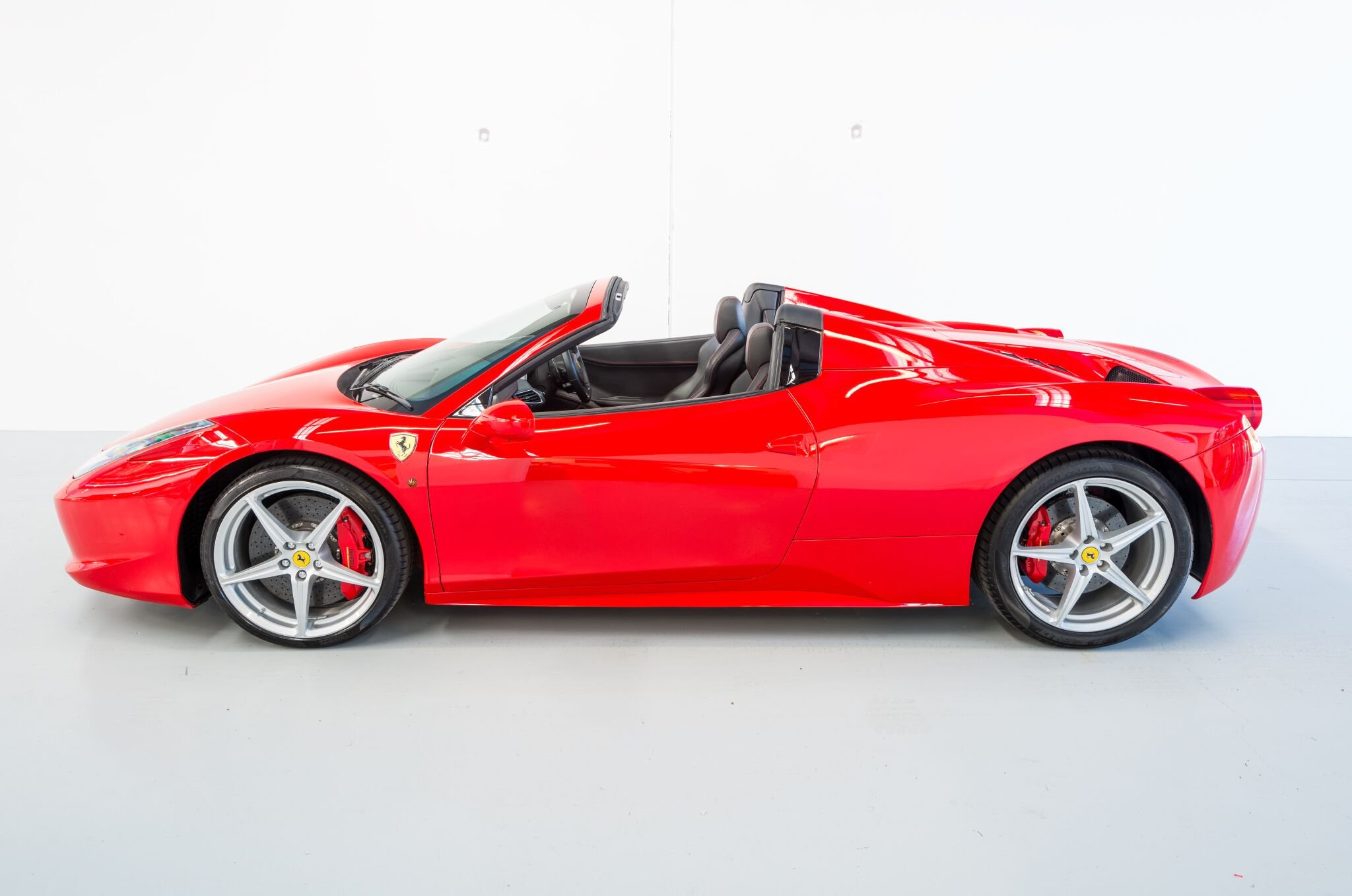 Ferrari 488 Spider with full body XPEL wrap in the Winguard Studio