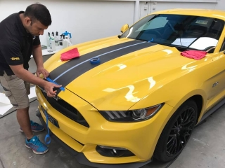 Ford, mustang, gt, customised, car bra, stone chip film, paint protection film, winguard, adelaide, matte paint, adelaide, matt paint, decal, tint, XPEL, Ultimate, Stealth, windguard, rennit list, reddit, car wrap adelaide