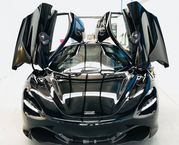 McLaren, 720s, 2018, 2017, 750s, supercar, roadster, car bra, stone chip film, paint protection film, winguard, adelaide, matte paint, car wrap, matt paint, XPEL, Ultimate, Stealth, Ultra