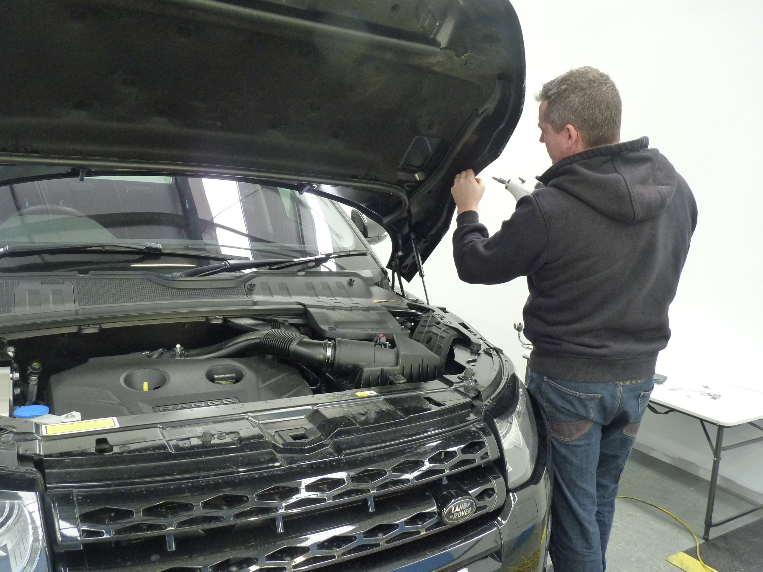 Range Rover Evoke Paint Protection Film Adelaide winguard