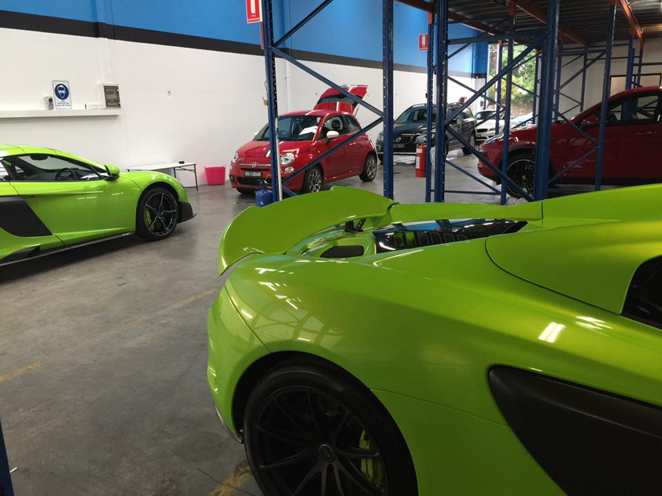 McLaren, car bra, stone chip film, paint protection film, winguard, adelaide, matte paint, car wrap, matt paint, XPEL, Ultimate, Stealth