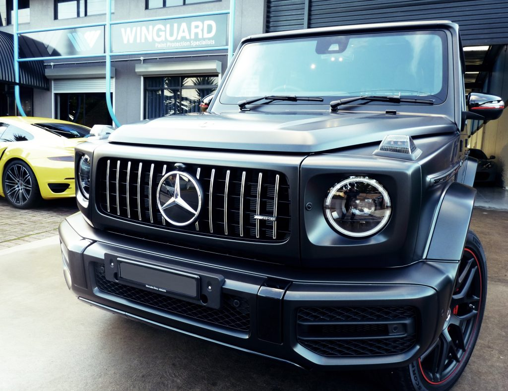 G Wagon Amg G63 Xpel Stealth Paint Protection Film G Schockl Proved Full Wrap Winguardadelaide Winguard Paint Protection Specialists