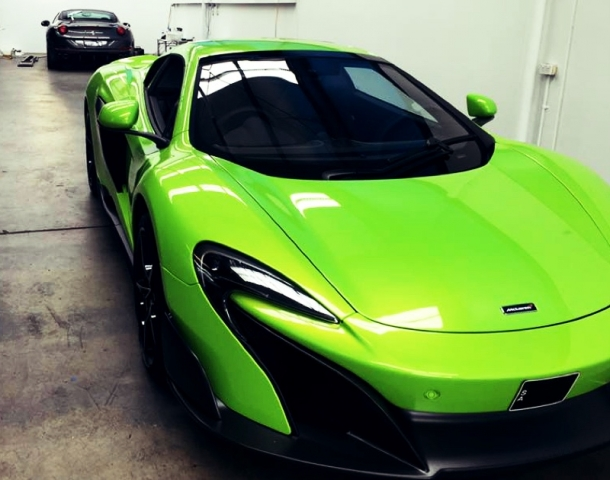 McLaren, roadster, car bra, stone chip film, paint protection film, winguard, adelaide, matte paint, car wrap, matt paint, XPEL, Ultimate, Stealth