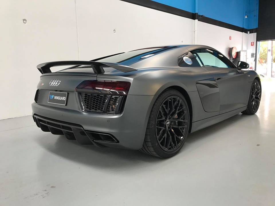 audi, v10,  r8, plus, Lamborghini engine, stone chip film, paint protection film, winguard, adelaide, matte paint, matt paint, car bra,  winguard, adelaide, matte paint, matt paint, car bra,  custom, expert wrap, xpel, suntek, opticoat, stek, 3m, adelaide paint protection,  d and s, attention to detail, adelaide, south australia, elite, adelaide paint protection, d and s, partners in grime, south australia, australia